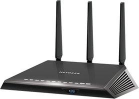 Netgear R6800 draadloze router Dual-band (2.4 GHz / 5 GHz) Gigabit Ethernet Zwart