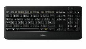 Logitech K800 toetsenbord RF Draadloos Zwart