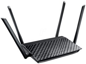 Asus RT-AC1200G Plus Router / WLAN 2.4 / 5GHz