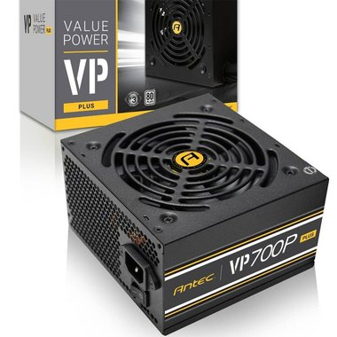 Antec VP700P power supply unit 700 W ATX Zwart