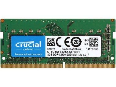 Crucial 8GB DDR4 geheugenmodule 2400 MHz