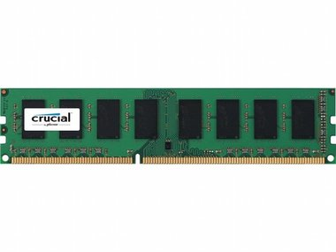 Crucial 8GB DDR3/1600 (Low volt.)
