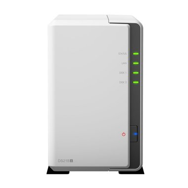 Synology DiskStation DS218J NAS Compact Ethernet LAN Wit data-opslag-server