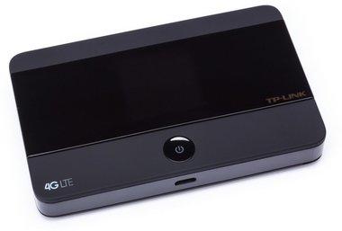 TP-LINK M7350 LTE-Advanced Wi-Fi (MIFI) Zwart uitrusting voor draadloos mobiel netwerk